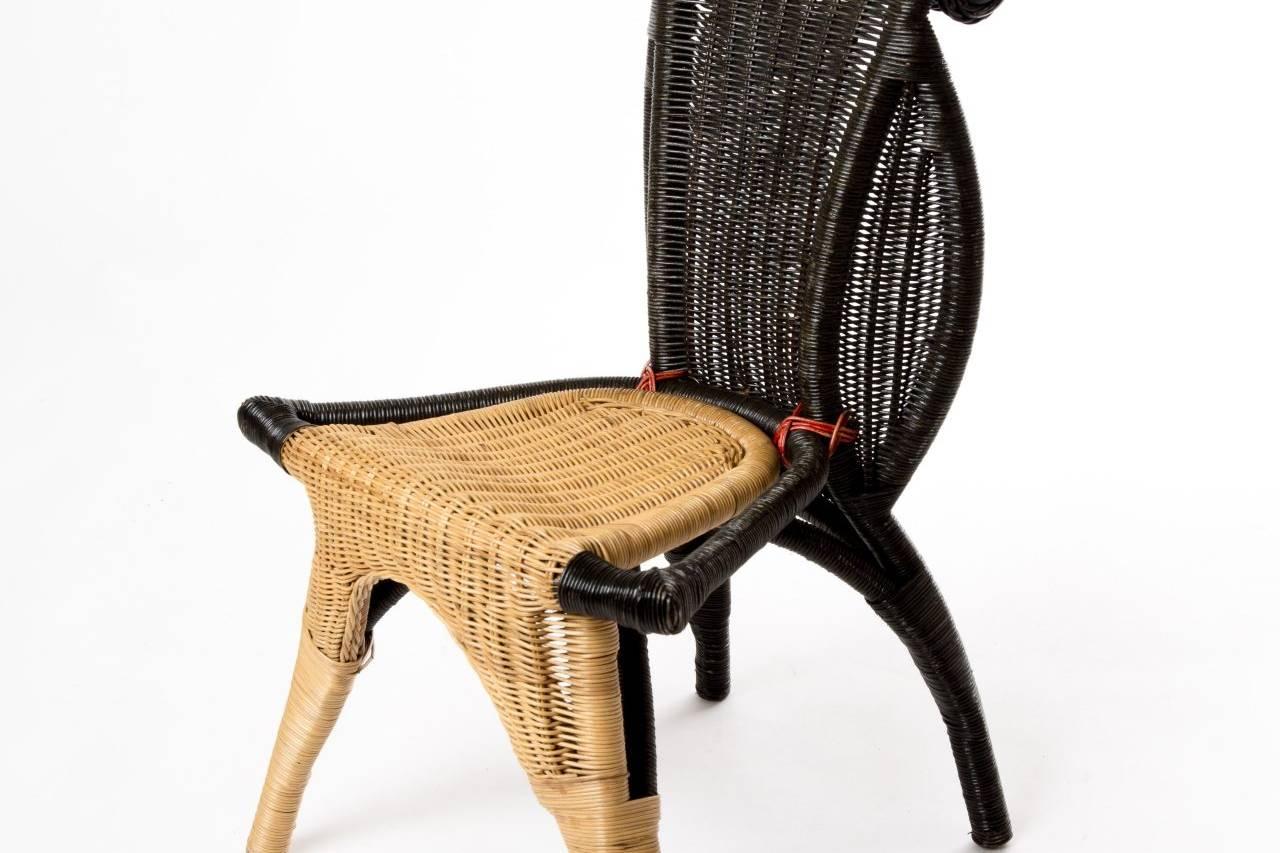 Egg Chair Riet.Portfolio Grid Moetkunsten