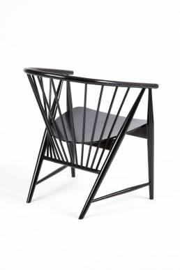 sonna rosen black chair denmark scandinavian