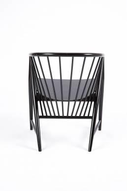 sonna rosen Scandinavian black wooden chair denmark