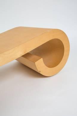 Dries Kreijkamp plywood bentwood daybed
