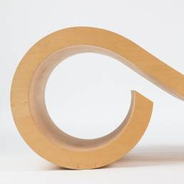 Dries Kreijkamp plywood bentwood daybed