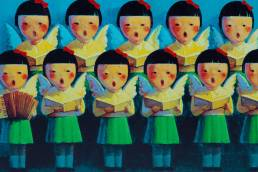 liu ye chinese painter choir
