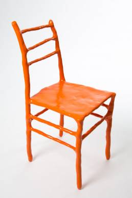 Maarten Baas clay chair Basel chair edition