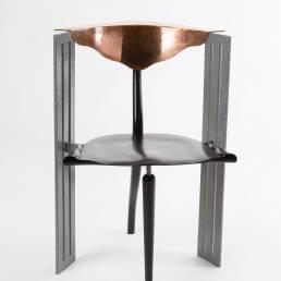 Ota Otanek Borek Sipek Vitra copper chair