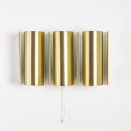 brass wall lamp tubes gold