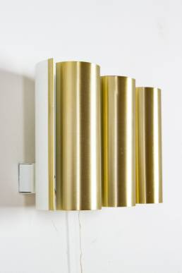 brass wall lamp tubes gold