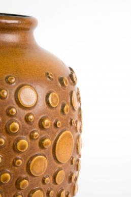 huge brutalist polka dot vase