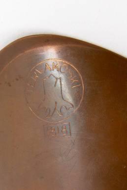 Tapio wirkkala copper bowl