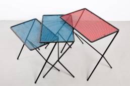 Mategot tables miniset metal